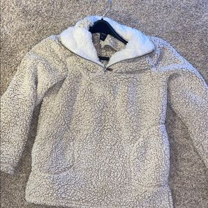 Super soft Sherpa pull over